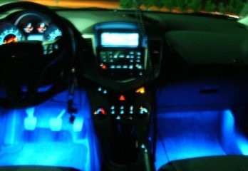 LED Glow Interior Lights Installation